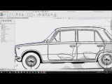 Solidworks Tutorial Part 1/2 | 3D model a car for aerodynamic analysis in ANSYS CFX