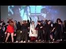 Совместный гудеж на сцене (окончание фестиваля)