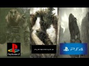 Shadow of the colossus - PS2 vs. PS3 vs. PS4 - Graphics Comparison