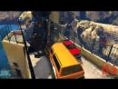 1000 ВЕЗДЕХОДОВ НА УЗКОМ МОСТУ! (GTA 5 Смешные Моменты)