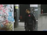 Трэш граффити на стене [сериал Кровавая гонка]
