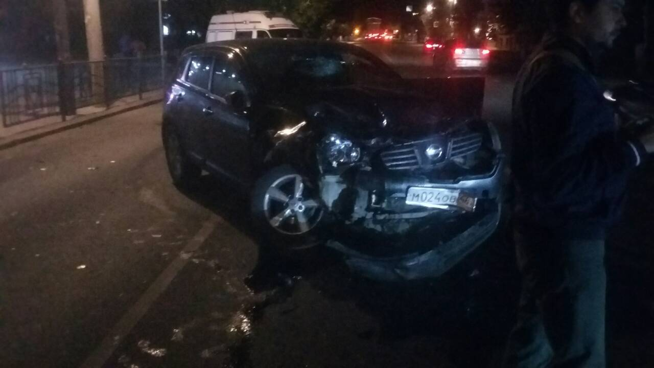 Вцентре Курска в трагедии пострадали две пассажирки маршрутки