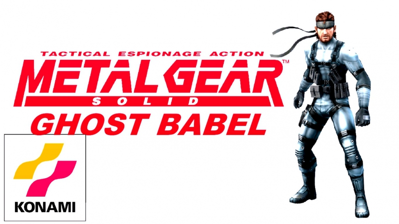 Metal Gear Ghost Babel .. [ pcsx2-1.5.0 dx-11 iso-GB.COLOR сборник ] .Fps.50169HD.720.p