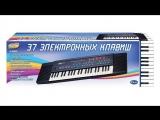 Видео обзоры игрушек - Музыкальный инструмент Синтезатор. Musical instrument Synthesizer
