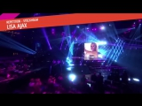 Lisa Ajax - I Don't Give A (репетиция финала)