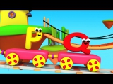 Bob The Train - Alphabet Adventure - Children English Learning Videos - Songs For Kids To Sing