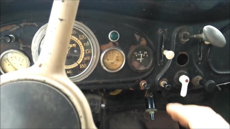 BMW 321 1948г. Первый старт спустя 20 лет.