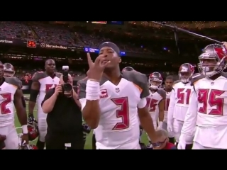 I guess Jameis is VERY hungry for a win 😂