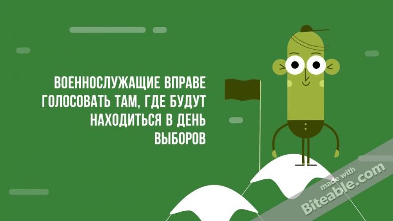Курсант ВУМО Александр Огурцов (19 лет) об особенностях голосования военнослужащих