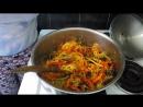 Баклажаны по корейски вкусный простой рецепт салата на зиму
