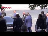Президент Армении Серж Саргсян покидает Дом правительства 29 июня 2017 года