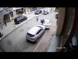 Авария на парковке в Челябинске