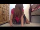 Девушка раздевается и танцует стриптиз голая. эротика не порно сиськи интимное домашнее русское частное любительское видео