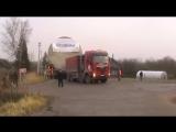 Шлюз для Белорусской АЭС Локня Псковской обл