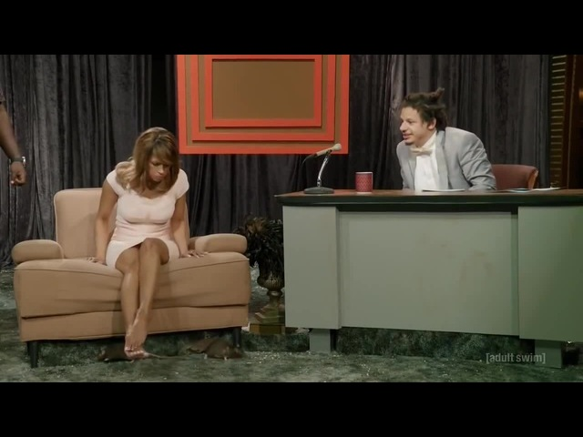 The Eric Andre Show - Stacey Dash Interview (S04E02)
