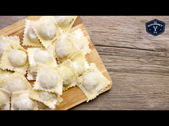 Fresh Meat Filled Ravioli || Le Gourmet TV Recipes