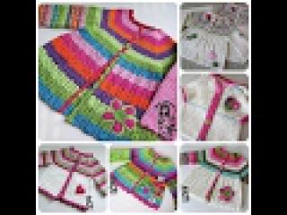 Handmade Вязаные спицами детские вещи весна-осень