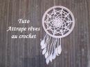 TUTO ATTRAPE REVES AU CROCHET Dream catcher crochet ATRAPASUENOS CROCHET