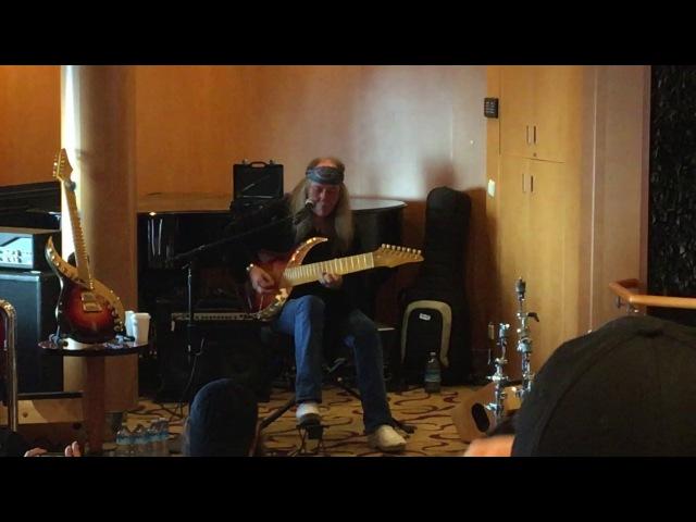 Uli Jon Roth guitar clinic, 70000 Tons of Metal Cruise 2017