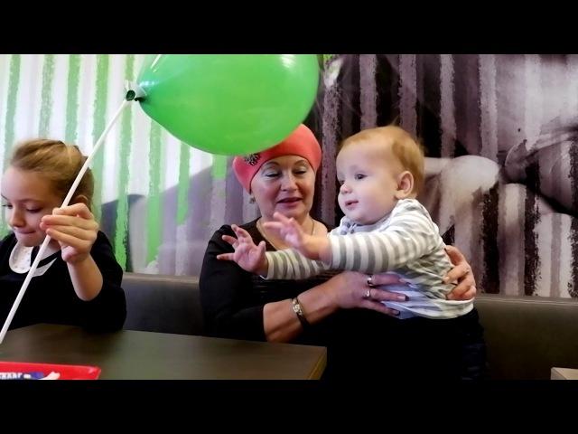 9 10 месяц развития малыша Ромки