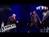 Lisandro Cuxi et M Pokora -  Cry Me A River   The Voice France 2017  Live