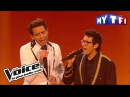 Vincent Vinel et Mika Yesterday The Beatles The Voice France 2017 Live