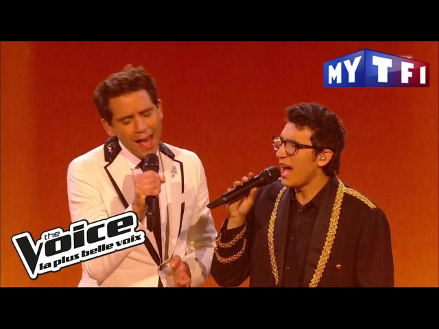 Yesterday The Beatles Vincent Vinel et Mika The Voice France 2017 Live