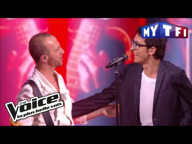Vincent Vinel et Calogero Je joue de la musique The Voice France 2017 Live