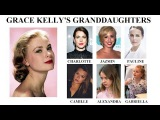 Grace Kelly's Granddaughters Charlotte, Jazmin, Pauline, Camille, Alexandra and Gabriella