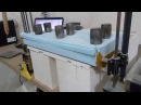 Test CNC foam cutting
