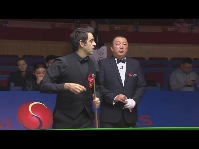 Ronnie O'Sullivan v Barry Hawkins | R3 Shanghai Masters Snooker 2017