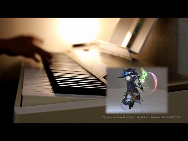 【FF14楽器演奏機能】クガネBGMを自キャラとセッションしてみた!