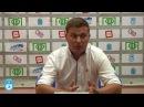 Игорь Ющенко и Алексей Стукалов после матча Сокол - Зоркий, 1-1