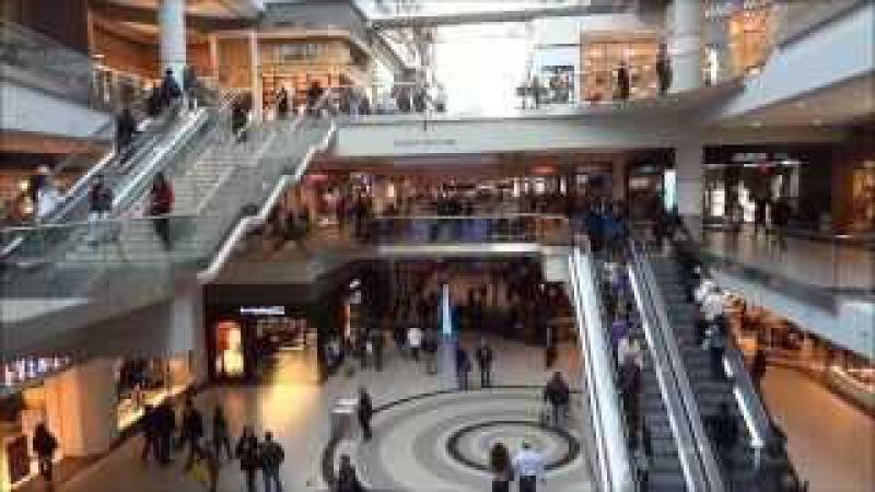 Toronto Eaton Shopping Center. Ontario Canada.