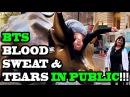 DANCING KPOP IN PUBLIC - BTS BLOOD SWEAT TEARS!!