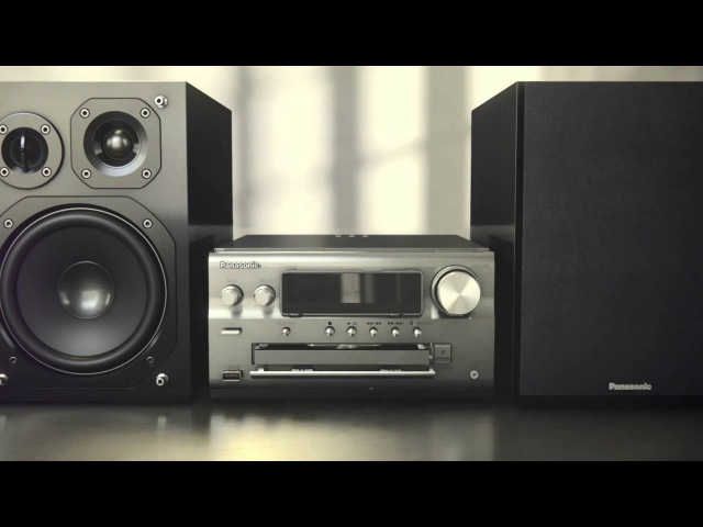 Panasonic's SC-PMX70 Hi-Fi Audio System