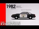 Эволюция полицейских машин за 67 лет Ford