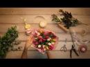 💐Букет Амстердам Купить букет из тюльпанов Киев