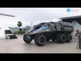 First Look Of NASAs Mars Rover Vehicle - Bad Girls