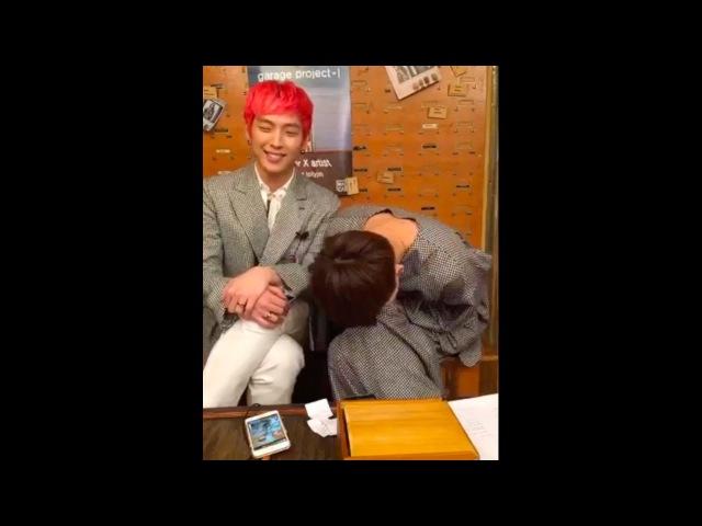 170308 그라치아 인스타그램페이스북 라이브 - B.A.P 힘찬, 대현 (full ver.) [MemoryLane]