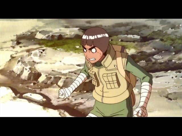Rock Lee vs Gitai Fight Scene! [60FPS]