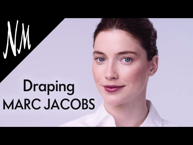 Draping Makeup Tutorial How To Contour with MARC JACOBS Air Blush | NM