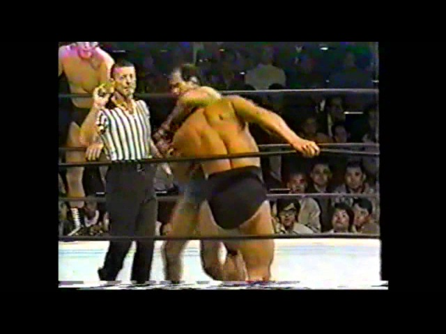 Karl Gotch/Lou Thesz vs Antonio Inoki/Seiji Sakaguchi 1973-Japan Part 1