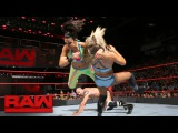 Cesaro, Sheamus &amp Bayley vs. Luke Gallows, Karl Anderson &amp Charlotte Flair Raw, Jan. 30, 2017