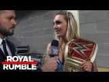 [#My1] Charlotte Flair makes a bold prediction: Royal Rumble Exclusive, Jan. 29, 2017