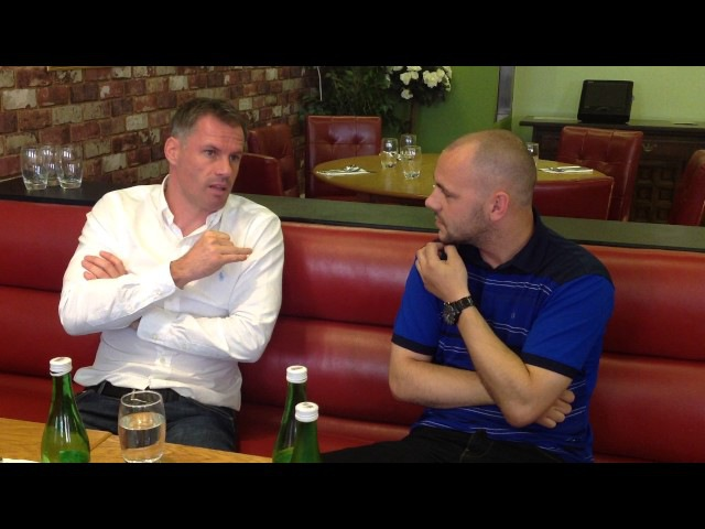 Exclusive interview with Jamie Carragher -The person, The Pundit The Predictions.