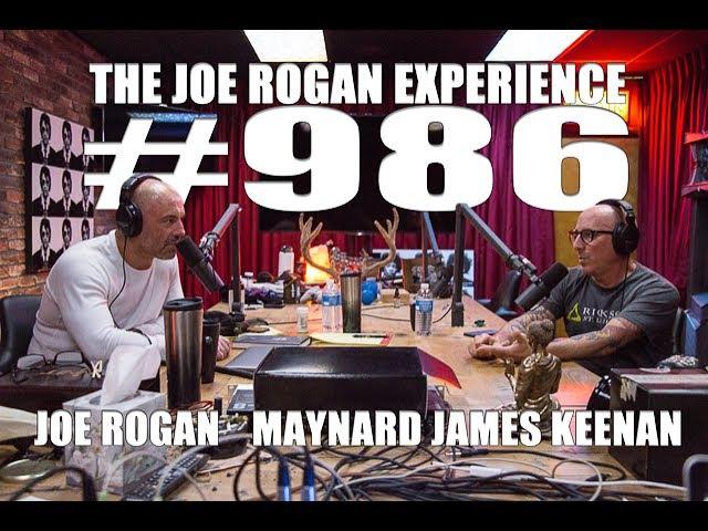 Joe Rogan Experience 986 - Maynard James Keenan
