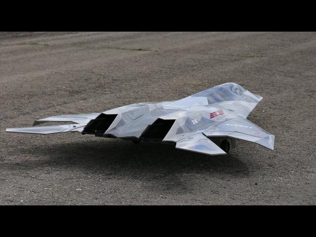 АЛ-631 Архонт - тренируем пилотаж /AL-631 Archont - test aerobatics