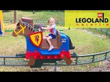 Леголенд #2 СУПЕР Парк аттракционов и развлечения для детей Горки и Карусель Дет ...