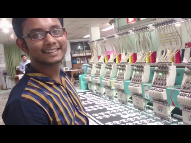 Изготовление нашивок на Таджимах |Tajima Machine make embroidery patch